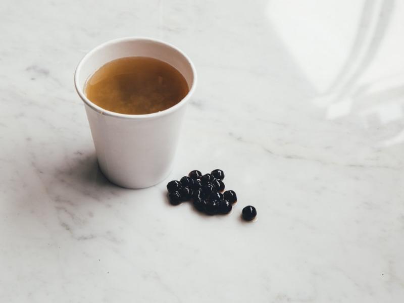 カルディ タピオカ黒糖ミルクティー